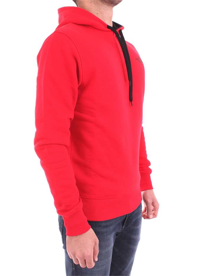THE NORTH FACE T92TUV RED Clothing Men