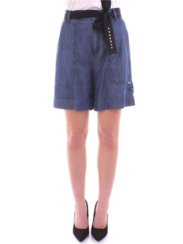 LIU JO Clothing Women Shorts DENIM W18359 T9630