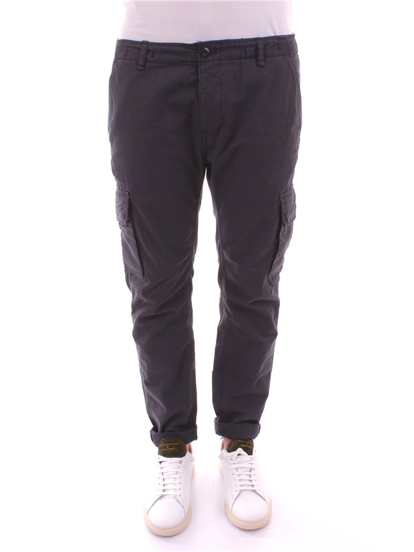 RANSOM&CO Clothing Men Trousers BLUE PAUL P138