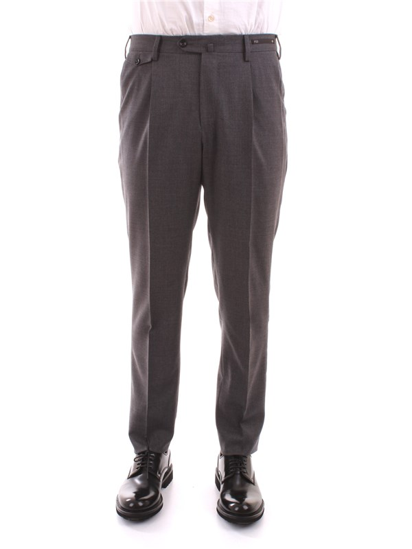 PT01 Clothing Men Trousers GREY CPGF11ZP0WEL TO28 D7