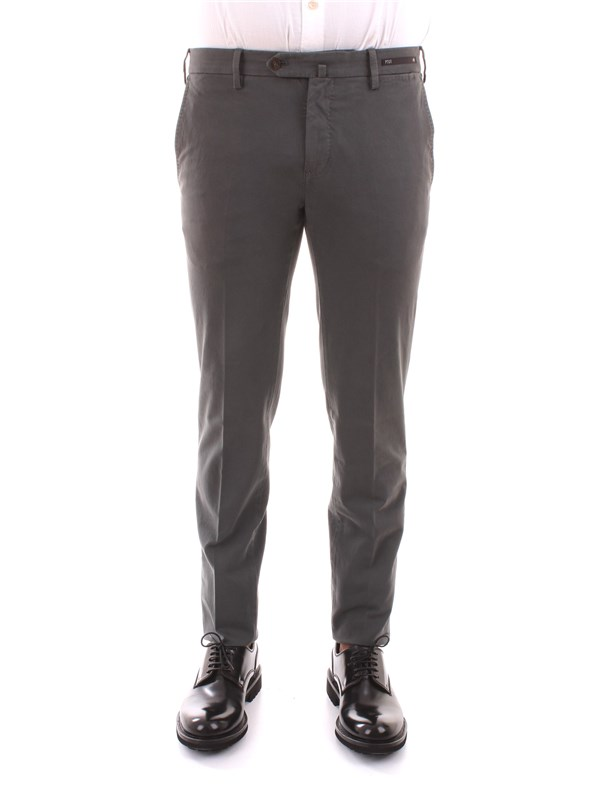 PT01 Clothing Men Trousers GREY CODT01Z00WHE PU18