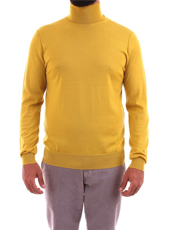 PAOLO PECORA Clothing Men Sweater OCHER A007 F001