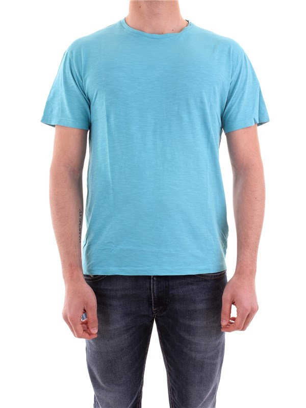 BOMBOOGIE Clothing Men T-shirt TURQUOISE TM5723 JSSG