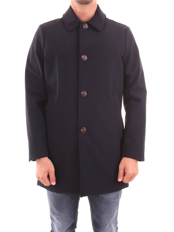 RRD Clothing Men Overcoat BLUE 19035