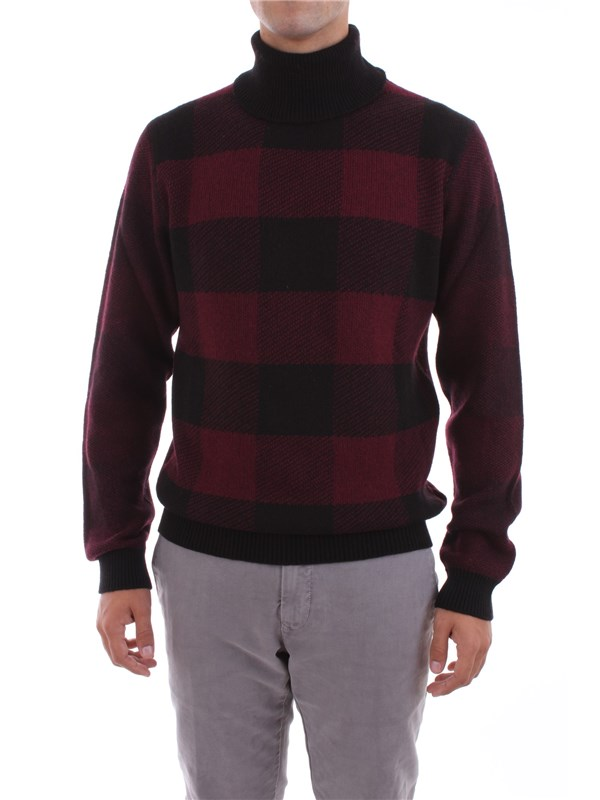 WOOLRICH Clothing Men Sweater BORDEAUX MAG1748 MY01