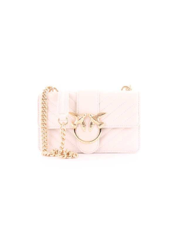 PINKO Accessories Women Cross body bag CREAM LOVE MINI MIX CL