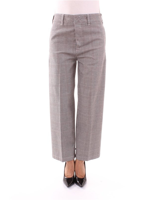 DEPARTMENT FIVE Clothing Women Trousers CREAM DUE T1912
