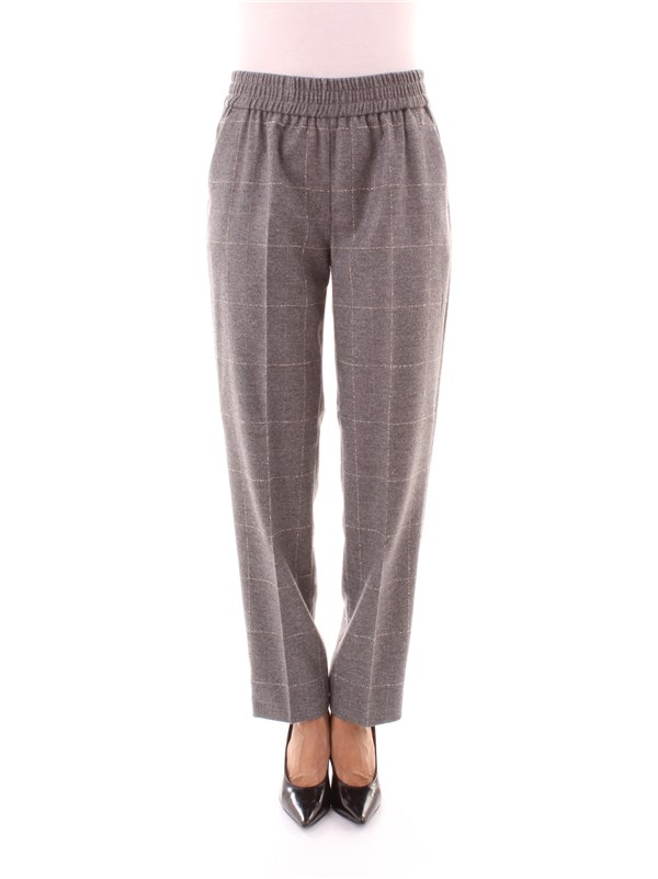 SEVENTY Clothing Women Trousers GREY PT095570 160197