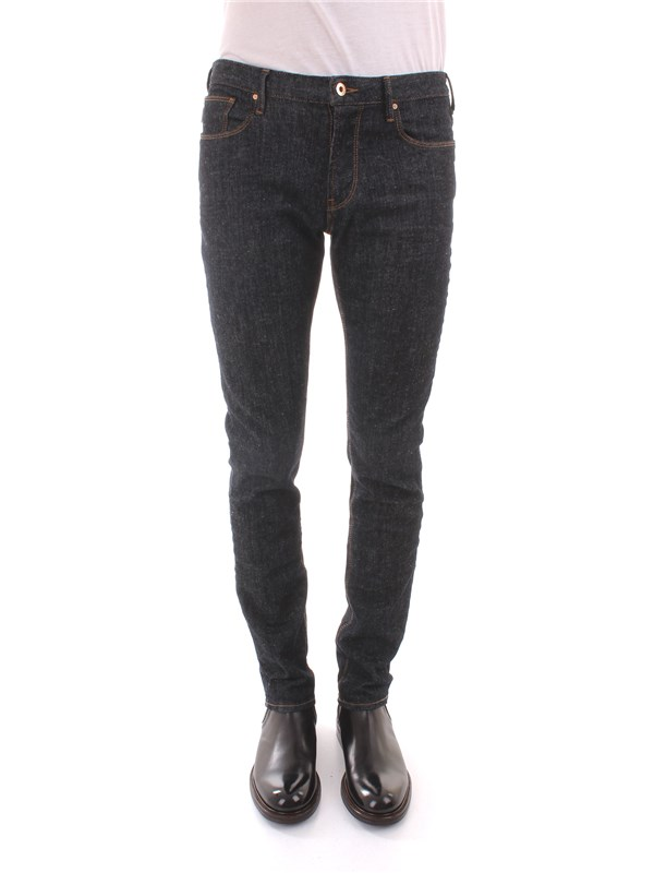 ARMANI Clothing Men Jeans BLUE 6Y6J06 6D2ZZ