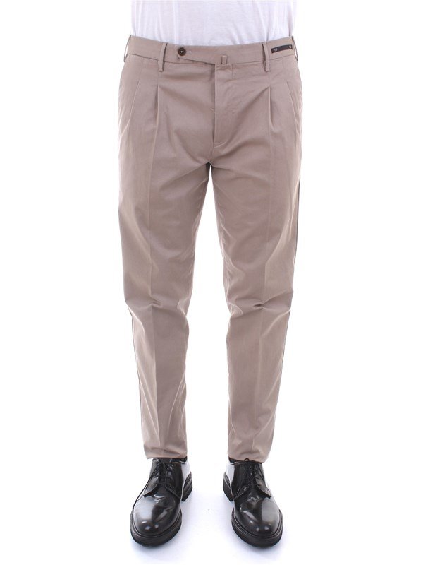 PT01 Clothing Men Trousers MUD CPHL22ZSOCLP TS91