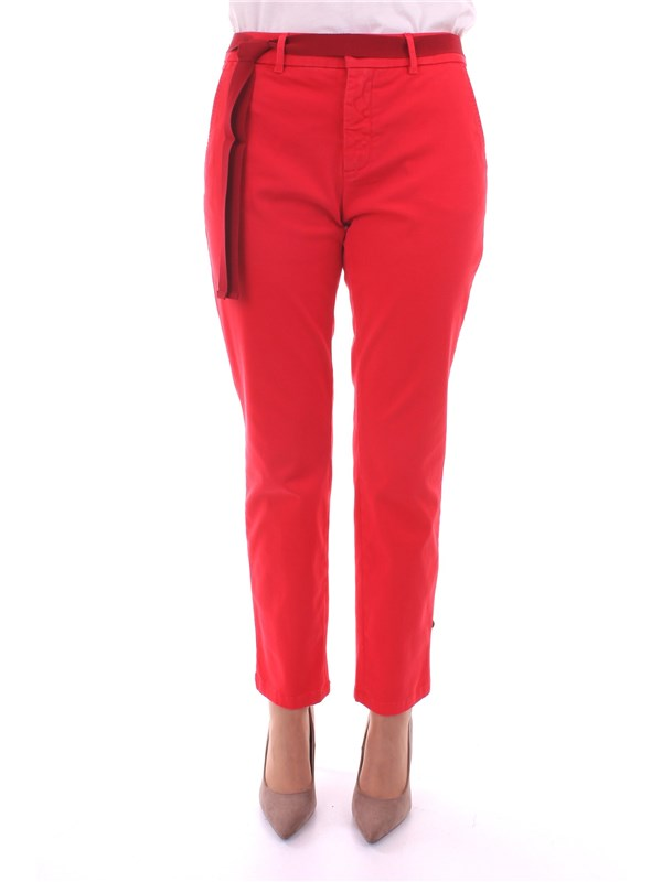 WEEKEND Clothing Women Trousers RED AUDREY