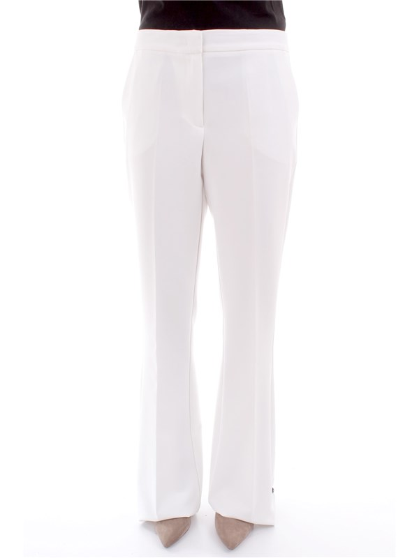 LIU JO Clothing Women Trousers WHITE C18077 T7896