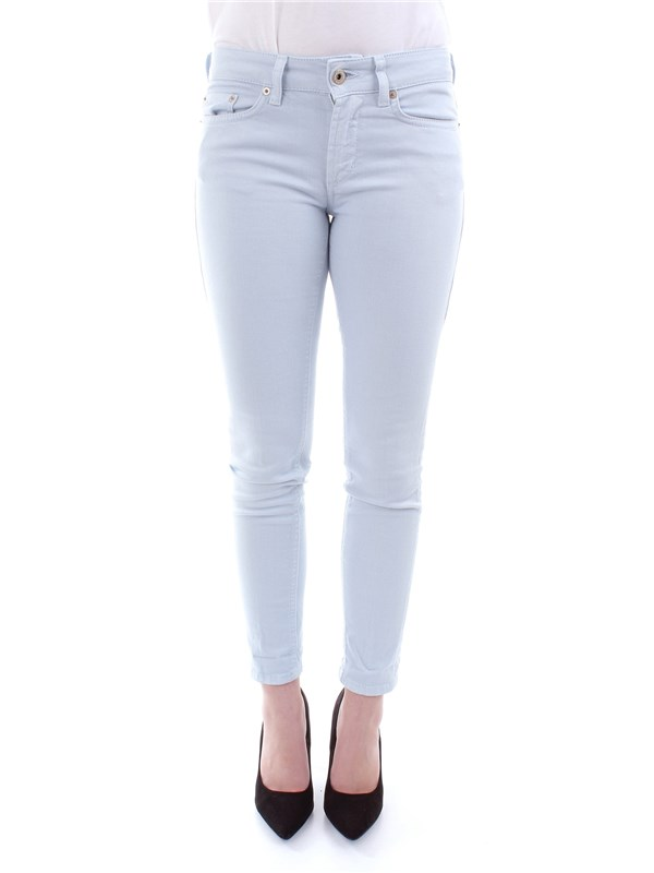 DOND UP Clothing Women Trousers HEAVENLY P692 BS009PTD