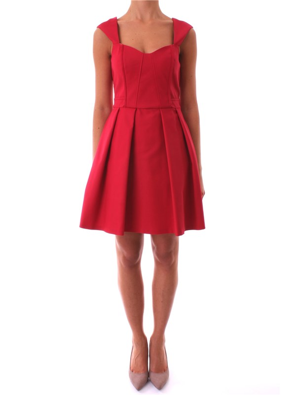 LIU JO Clothing Women Dress RED I17001 T1831 D7