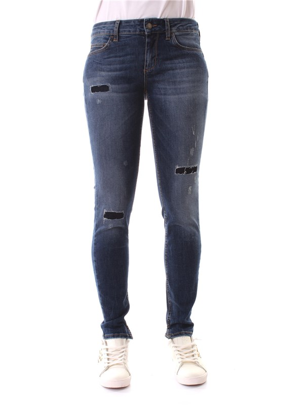LIU JO Clothing Women Jeans BLUE U66017 D4018 D6